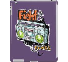 Fight the Power! iPad Case/Skin