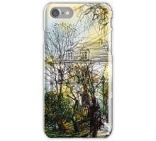 Montmartre 13 in colour iPhone Case/Skin