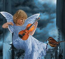 ❤ 。◕‿◕。SWEET MUSIC ANGEL WITH A BIRDS EYE VIEW❤ 。◕‿◕。 by ╰⊰✿ℒᵒᶹᵉ Bonita✿⊱╮ Lalonde✿⊱╮