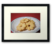 Viennese Biscuits II Framed Print