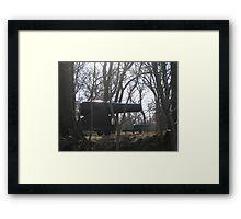 Rodman Guns, Fort Foote Framed Print