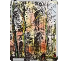 Montmartre 14 in colour iPad Case/Skin