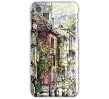 Montmartre 15 in colour iPhone Case/Skin