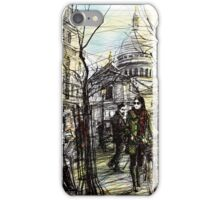 Montmartre 5 in colour iPhone Case/Skin