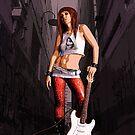 Mush - Urban Grunge Rocker by Galen Valle