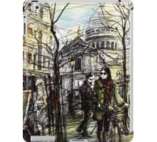 Montmartre 5 in colour iPad Case/Skin