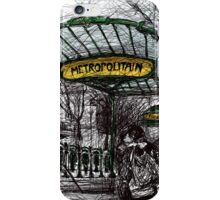 Montmartre 4 in colour iPhone Case/Skin
