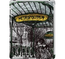 Montmartre 4 in colour iPad Case/Skin