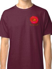 Poppy On Blue Classic T-Shirt