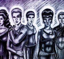 Women of Trek by MsMrMr