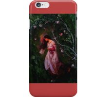Woman under tree. iPhone Case/Skin