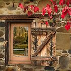 Autumn Window, Lavendula, Daylesford, Victoria by Julie Begg