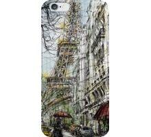 Paris 5 in colour iPhone Case/Skin
