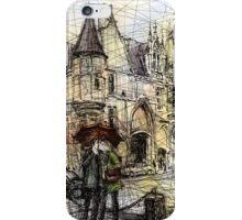 Paris 3 in colour iPhone Case/Skin