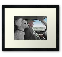 When You Drive, Keep Your Eyes On The Road Framed Print