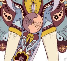 Elephant Tapestry Sticker