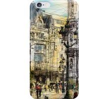 Paris 1 in colour iPhone Case/Skin