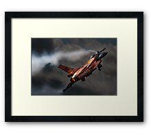 Dutch Demo Team F16 Fighting Falcon Framed Print
