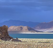 Moods of Pyramid Lake 3 by SB  Sullivan