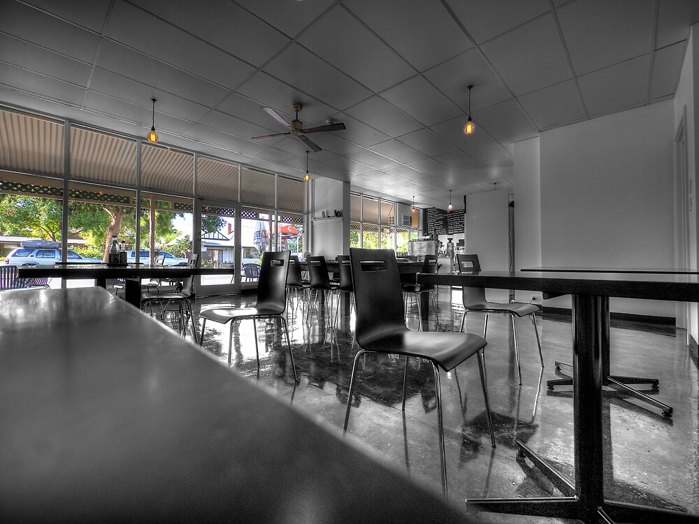 Royston Park Cafe - Inside Out by Dean Wiles