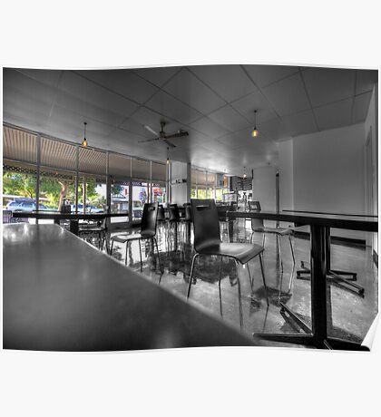Royston Park Cafe - Inside Out Poster