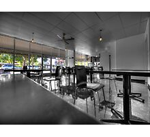 Royston Park Cafe - Inside Out Photographic Print