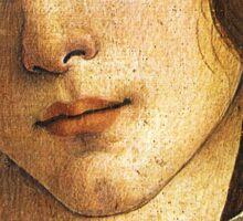 The Birth of Venus - Face Detail Sticker