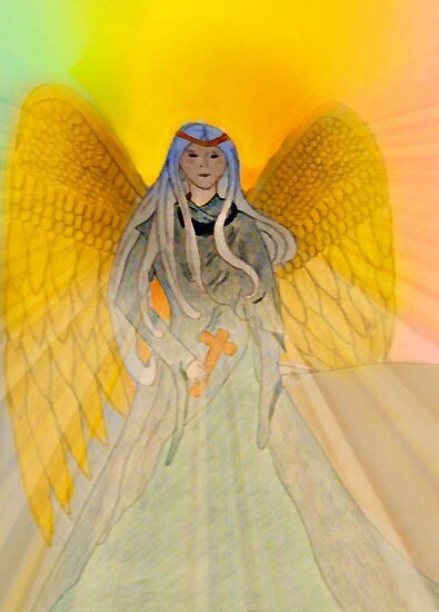 Rainbow Angel by Jane Neill-Hancock
