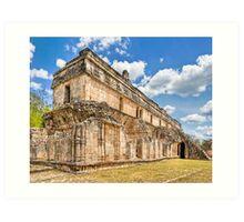 Inheritance of the Maya - Ruins at Kabah Art Print