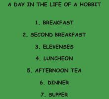 A Day In The Life Of A Hobbit by BeccaBoo88