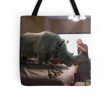 Bad Rhino! Tote Bag