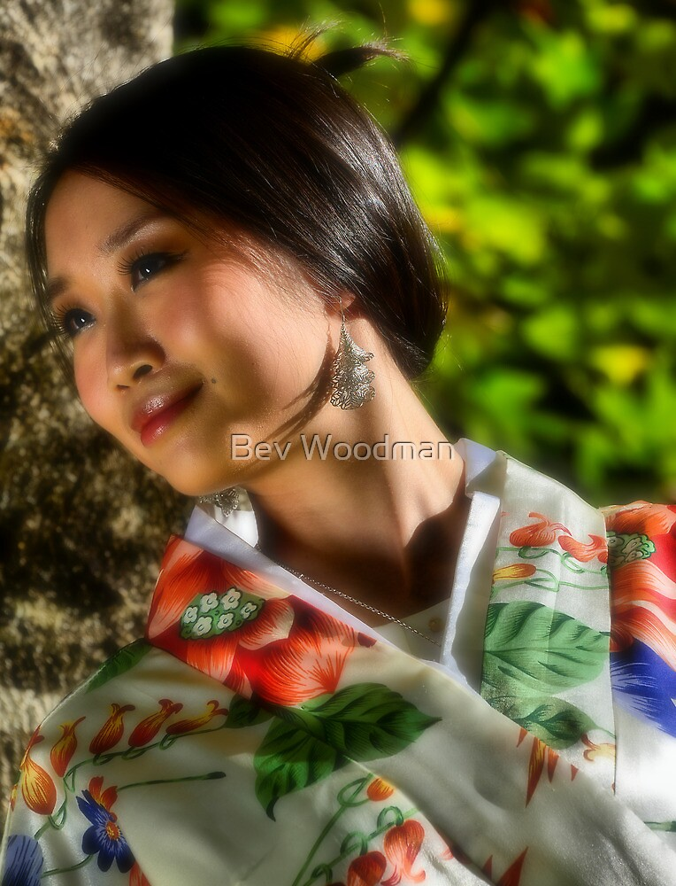 Geisha Girl - Mt Wilson NSW Australia by Bev Woodman