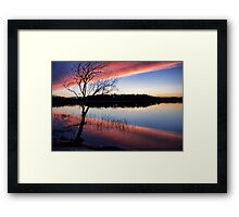 Untie the ribbons Framed Print