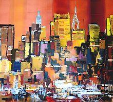 New York City Skyline 0199 by Eraclis Aristidou