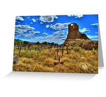 Sacred Burial Grounds Of Taos Pueblo Greeting Card