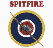 Spitfire Tee Shirt by Colin  Williams Photography
