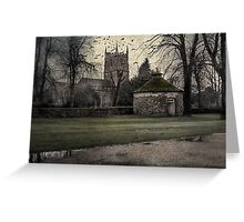 Haunted Village Greeting Card