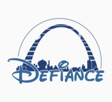 The most defiant place (Sticker& Light Tees) by Nana Leonti