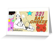 tippin cows 4 Greeting Card