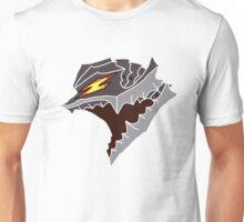 Berserk Armor Helmet - White Outlines Unisex T-Shirt