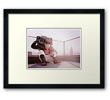 Monkey Beat Framed Print