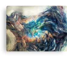 Water and space painting Canvas Print