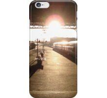 London Bridge Station - The Winter Sun iPhone Case/Skin