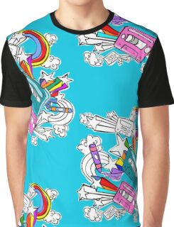 I'd Like to Spend The  Day Colouring with Crayons Graphic T-Shirt