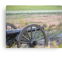 Canon on the Battlefield Canvas Print