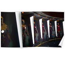 Hall of Armor - Iron Man Poster