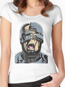 Robocop Movie T-Shirt Women's Fitted Scoop T-Shirt