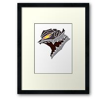 Berserk Armor Helmet - No Outlines Framed Print