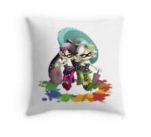 Splatoon | Squid Sisters Throw Pillow