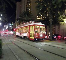 Canal St streetcar -- New Orleans, LA by AJ Belongia